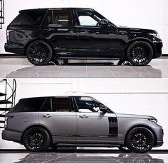 Stealth Black or Satin Grey ? Range Rover White, Range Rover Svr, Top Luxury Cars, Luxury Suv, Range Rover Vogue Autobiography, Jaguar Land Rover, Car Goals, Land Rover Defender, Sport Cars