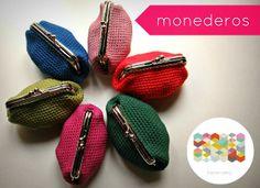 hamoraima: monederos de crochet ▲ 10