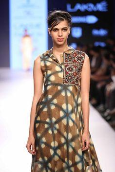 Lakmé Fashion Week – DEEPIKA GOVIND AT LFW SR 2015 #tiedye #bohochic