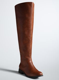 Wide Calf Boots - Plus Size Wide Calf Over The Knee Boots (Wide Width & Wide Calf)