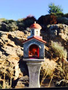 Miniature orthodox Church iconostasis