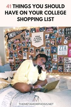 OMG these dorm room must haves need to be on every college girl's shopping list! Make sure you get these college dorm essentials for next semester!
