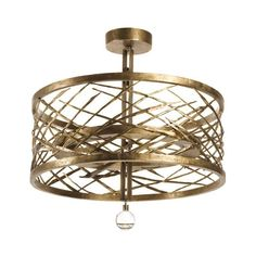 Herve Van Der Straeten Cyclone Lamp   From a unique collection of antique and modern chandeliers and pendants at https://www.1stdibs.com/furniture/lighting/chandeliers-pendant-lights/