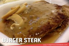Jollibee Burger Steak Secret Recipe Ingredients How To Cook Latest Mushroon Gravy Today I will be teaching you how to cook delicious mushroom burger steak Ala Jollibee. The Jollibee Mushroom Burger Steak is probably one of the company's most popular items on its menu. It has garnered quite a following because of its combination of flavorful taste and very affordable price, you can never go wrong with it. It seems that Jollibee has captured the essence of the Filipino palate with every…