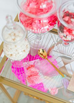 Candy Tasting Bar: Sugar Lips, Champagne Bubbles, & Cherry Sweethearts from Sugarfina