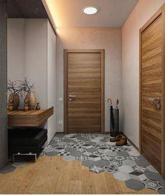 Home Room Design, Interior Design Living Room, Living Room Designs, House Design, Apartment Interior, Home Interior, Interior Doors, Home Renovation, Home Remodeling
