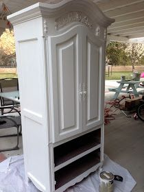 Jedi Craft Girl: Painted Armoire