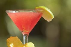 Cocktail recipe for a Jamaica Margarita, a margarita flavored with hibiscus flowers and featuring Tequila Tezon Blanco.