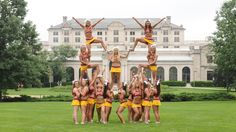 Iowa State Cheer - that's my girl on the left :)