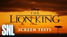 Lion King Auditions - SNL - YouTube
