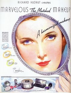 Richard Hudnut Makeup, 1936 by Gatochy