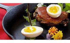 Duck Confit with Soft Boiled Duck Eggs Recipe | D'Artagnan
