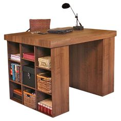 Found it at Wayfair - Project Center Writing Desk in Dark Walnuthttp://www.wayfair.com/daily-sales/p/Get-Crafty%3A-Creative-Space-Storage-Project-Center-Writing-Desk-in-Dark-Walnut~VHZ1217~E13582.html?refid=SBP.rBAjD1OQDPq90184yK6tAoVrV8F7dUgYkho5sok_O4Q