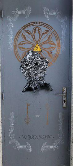 Monkeybird, Streetart, Urbacolors