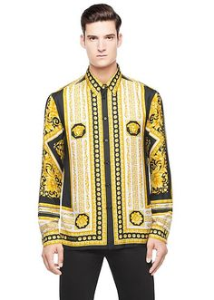 Shop the fashionable Versace Collection of men s shirts. Discover business  and formal shirts and men s fitted dress shirts and shop online. ad5f42612d7