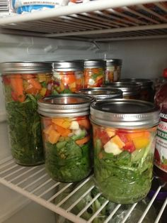 ORGANIC SALAD IN A JAR:Avoid ziplock produce bags! Airtight protection is compromised every time you open the bag. Often produce ripens at the same time. You may be canning produce. For produce that is harvested, that you don't want to end up in the compost, proper storage is key in obtain optimal flavor & nutrition. Individual portions!