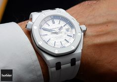 The Audemars Piguet Royal Oak Offshore Diver 42mm White - Horbiter