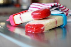 Lava Flow Ice Pops by Michelle Tam http://nomnompaleo.com