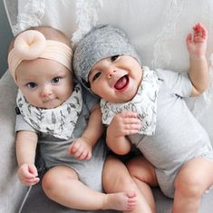 So Cute Baby, Cute Baby Twins, Twin Baby Girls, Boy Girl Twins, Baby Kind, Cute Baby Clothes, Baby Love, Adorable Babies, Boy Girl Twin Outfits