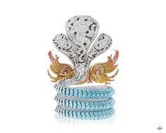 Les Ateliers Créations by Van Cleef & Arpels Dragon Jewelry, Opal Jewelry, Fine Jewelry, Van Cleef And Arpels Jewelry, Van Cleef Arpels, Jewellery Sketches, Jewelry Sketch, Pink Opal, Jewelery