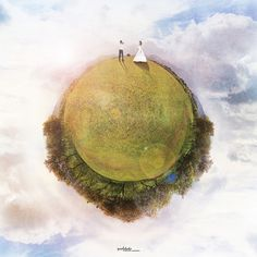 [panorama] our little planet by pooldodo, via Flickr