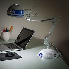 R2-D2 Desk Lamp Will Shine a Light in Your Corner of The Galaxy — GeekTyrant