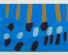 Agnieszka Kopczyńska-Kardaś, cykl Etapy,  30 x 40 cm, Tempera, 2004