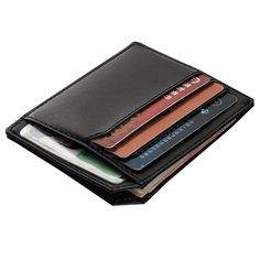 3366d2bb0cd7 Baellerry Slim Leather Men Wallets Designer Brand Credit Card Holder Male  Purses Men Bags carteira masculina 01BID104 PM30-in Wallets from Luggage    Bags on ...