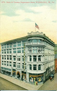stone and thomas wheeling wv | Stone and Thomas Department Store | Flickr - Photo Sharing!
