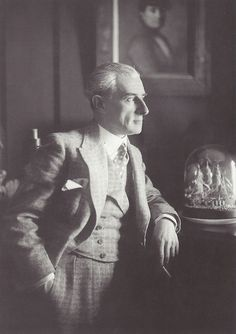 Boris Lipnitzki- Maurice Ravel, vers 1925
