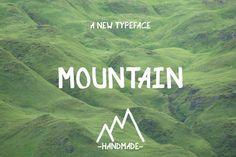 Mountain Marker by Holytramp on Creative Market