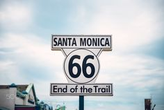 LOS ANGELES - SEP 15: Historic Route 66 sign at Santa Monica Pier, September 12, 2015 in Los Angeles by Daniel Viñé Garcia - danielvgphoto.com on 500px