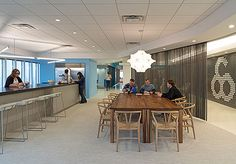 Outsell Office Design by Gensler | Mix of Turnstone's Scoop and Coalesse's CH24 Wishbone