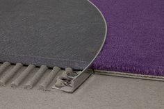 Sbizzarrirsi con le #forme e i #materiali anche sui #pavimenti? Si può fare con i #profili in #alluminio curvabili. Scopri come!