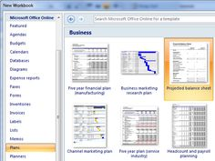 2 excel planstemps   15 Useful Excel Templates for Project Management & Tracking