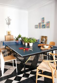 Great idea for the unused formal dining room.