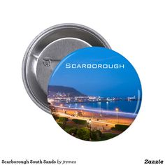 Scarborough South Sands Pinback Button
