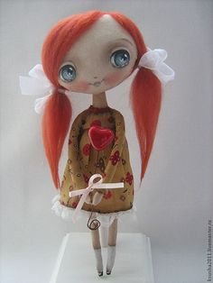 Cute Handmade Dolls by Oksana DadianiWorthwhile smile