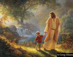 """Take My Hand"" by Greg Olsen"