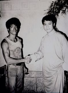 Bruce's visit to Shaw brothers