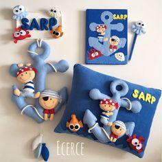 Baby Crafts, Felt Crafts, Handmade Toys, Handmade Crafts, Pillow Crafts, Felt Pillow, Baby Painting, House Ornaments, Felt Baby