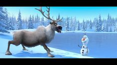 Disney's FROZEN   First Look Trailer   Official Disney HD I remember when I first saw this teaser trailer I thought this movie looked so stupid.....but now I'm in love with Frozen!!!