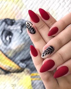 42 Charming red Nail Art Designs To Try This summer nails;n Beautifulnessss 42 Charming red Nail Art Designs To Try This summer nails;n Beautifulnessss Elegant Nail Art, Elegant Nail Designs, Red Nail Designs, Red Nail Art, Red Nails, Red Summer Nails, Fall Nails, Burgendy Nails, Oxblood Nails