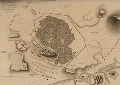 1818, Athens  - WALPOLE, Robert Old Greek, Old And New, Athens, Maps, Greece, Landscape, Greece Country, Map, Landscaping