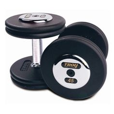 Troy Barbell Fixed Pro-Style Dumbbells - PFD-22.5C