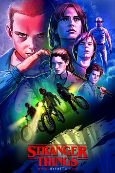 Stranger Things by Tu Bui - Home of the Alternative Movie Poster -AMP- Stranger Things Quote, Stranger Things Steve, Stranger Things Aesthetic, Stranger Things Season 3, Stranger Things Netflix, 4 Wallpaper, Alternative Movie Posters, Seasons, Illustration