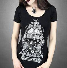 Camiseta Chica MC Memento Mori