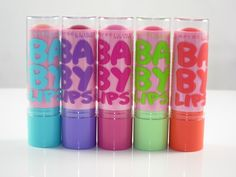 Maybelline Pinked Baby Lips Limited Edition Collection