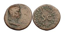 Ancient Coins - LIVILLA very Rare Restitution Issue by Titus 80AD Dupondius…