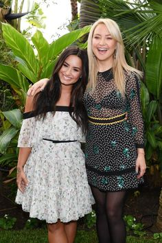 Demi Lovato Kate Hudson Fabletics  - Week in Celeb Photos for May 8-12